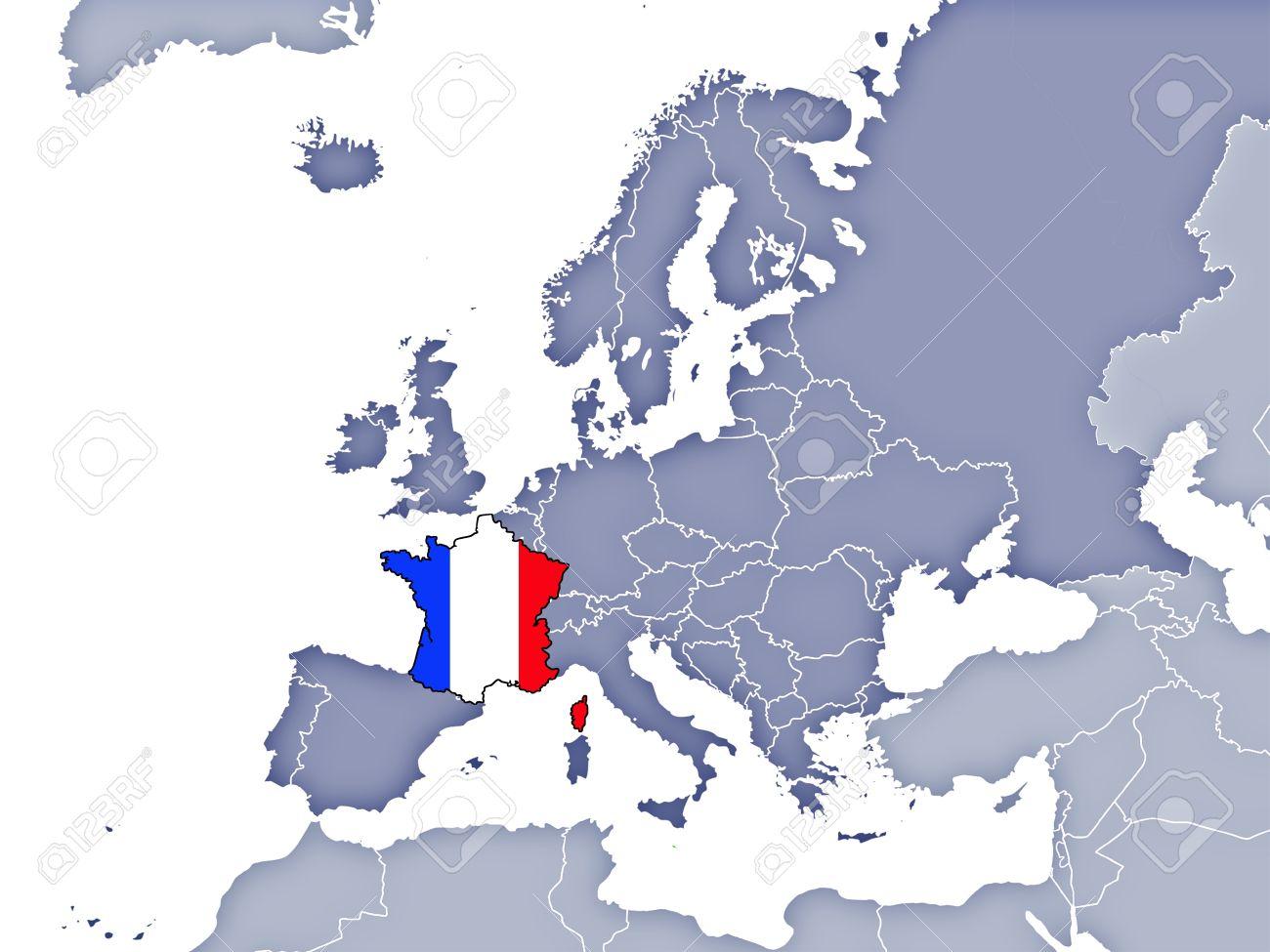 position de la france en europe